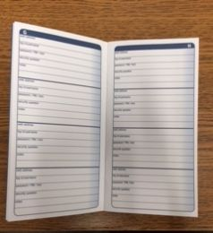 Adams APJ99 Password Journal