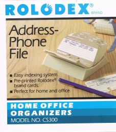 Rolodex CS300 Address Phone File