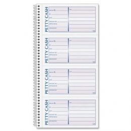 SC1156 Petty Cash Receipts - 2 Part