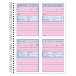 SC1187D  Message Books - 2 Part
