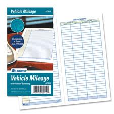 adams afr10 vehicle mileage book