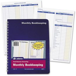 AFR71 Monthly Bookkeeping Record Books