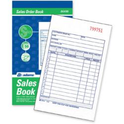 Adams TC4705 Sales?Order Book